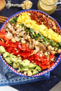 Caribbean Cobb Salad   The Suburban Soapbox