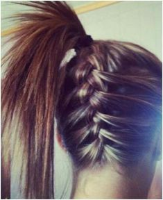 Cute hairstyle teen's style