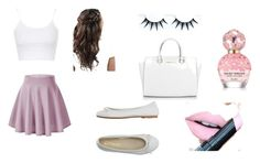 """""""swehrt2q3rwteyuy"""" by katniss-everdeen-578 ❤ liked on Polyvore featuring Topshop, DIENNEG, Fiebiger, Marc Jacobs and Michael Kors"""