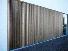 Hout - Torck poorten en zonwering Front Gates, Entrance Gates, Architecture Details, Modern Architecture, House Paint Exterior, House Elevation, Modern Exterior, Outdoor Walls, Modern House Design