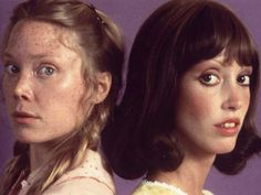 Sissy Spacek and Shelley Duvall. I know, I know..but come on, Carrie White AND Wendy Torrance TOGETHER?? Perfect darkness.