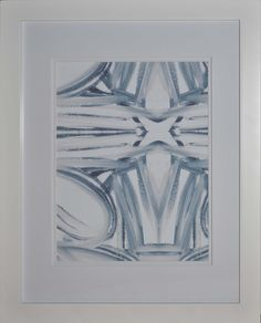 5114-16  blue white giclee, $175.00 by Lindsay Cowles LLC