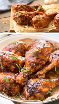 Chicken Drumsticks Recipe An easy chicken drumstick recipe that is flavorful and very juicy! They are the best baked chicken drumstick recipe that is sure to be a family favorite for dinner. Best Chicken Drumstick Recipe, Bake Chicken Leg Recipe, Chicken Recipes Video, Chicken Parmesan Recipes, Bbq Chicken Drumsticks, Baked Chicken Drumsticks, Baked Chicken Legs, Recipes For Drumsticks, Grilling Recipes
