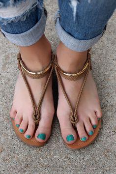Cali Dreamin' Sandal | UOIonline.com: Women's Clothing Boutique