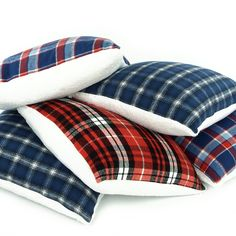 Spruce up the chalet in Alpine style with this cozy plaid throw pillow! It's super plush sherpa on one side with cuddle up flannel on the flip side, you'll never want to step foot off the couch on tho