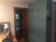 Farrow & Ball Oval Room Blue Larder Cupboard