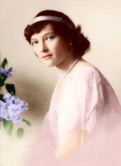 Granduchessa Tatiana Romanova, seconda figlia dell'imperatore Nicola II e l'imperatrice Alessandra Feodorovna (nata principessa Alice di Hesse)