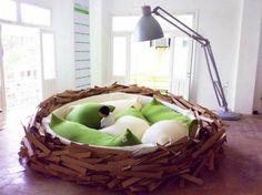 The Giant Birds Nest Bed