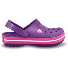 sports shoes 105ea 487ac Crocs Chaussures Enfants Crocband Dahlia Fuchsia... sur www.shopwiki.fr