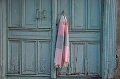 Natural & Soft Turkish Peshtemal 100% Cotton Beach Towel, Bath Sheet, Gym - Yoga #Handmade