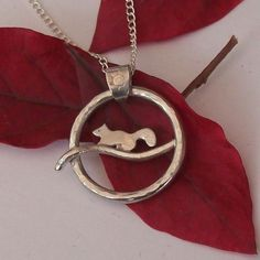 Squirrel Necklace Sterling Silver £55.00