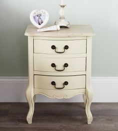 Shop for Juliette Shabby Chic Champagne 3 Drawer Bedside Table. French Cream Bedside Cabinet With Limed Finish Top. Starting from Compare live & historic home furniture and decor prices. 3 Drawer Bedside Table, Bedside Cabinet, Dresser As Nightstand, Unique Furniture, Shabby Chic Furniture, Living Room Furniture, Cream Chest Of Drawers, French Bedside Tables