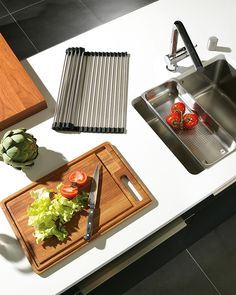 Cutting boards, Roller Mats and sink grids oh my! Franke has a wide selection of kitchen accessories that will bring your kitchen workstation to the next level. Franke Sink Accessories, Kitchen Sink Accessories, Franke Kitchen Sinks, Kitchen Cabinets, Kitchen Work Station, Two Tone Kitchen, Plumbing Fixtures, Kitchen Design, Kitchen Ideas