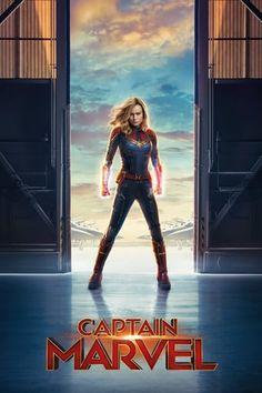 Silk Poster Captain Marvel Hot 2018 Marvel Movie Brie Larson B-1225