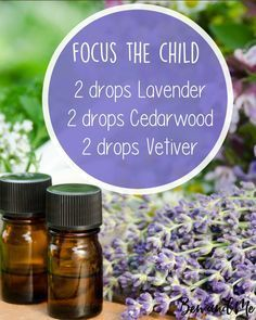 If you have children like I do who struggle with focusing (especially those with ADHD), this is the best blend ever. Add this essential oil blend to your diffuser (you can also mix it with a carrier oil in a roller bottle to use topically). Click on the image for more simple recipes for your diffuser.