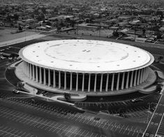 The Forum in Inglewood Los Angeles Area, Los Angeles Homes, Inglewood California, Southern California, Carl Johnson, Indoor Arena, California History, City Of Angels, Architecture