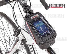 Rahmentasche ( Regendicht ) fürs Handy Die praktische Rahmentasche für Ihr Rennrad, City-Bike oder Mountainbike ist regendicht und ist ideal um Ihr Smartphone aufzubewahren. So sind Sie auch während Ihrer Fahrradtour immer erreichbar Verschlusssystem: Reißverschluss. Maße: 19,5 x 10 x 11 cm. Preis: € 9,95 zzgl.Versand, https://www.powerplustools.de/fahrradtaschen/fahrrad-rahmentasche-fur-handy-iphone-smartphone-mobiltelefon.html