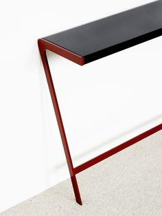 ULU - Console - Christophe Delcourt Console Metal, Automotive Seat Covers, Handmade Furniture, Decoration, Home Accessories, Modern Design, Furniture Design, Design Inspiration, Interior
