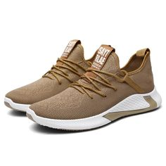 -2020 Collection -Ultra-Light -Athletic Build -Breathable Mesh -Super Stable Brown Sneakers, Slip On Sneakers, Casual Sneakers, Casual Shoes, Men Casual, Boho Sandals, Open Toe Sandals, Orthopedic Sandals, Pop Socks