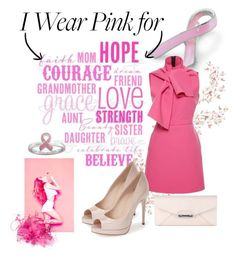 """""""Wear pink"""" by madeofcinnamon ❤ liked on Polyvore featuring Bling Jewelry, Diesel, MSGM and Fendi"""