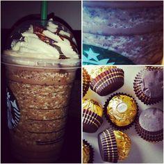 If you're like us, you LOVE Ferrero Rocher. Did you know there was a Ferrero Rocher Frappuccino? Its so good!! Find it @ SecretStarbucks.com