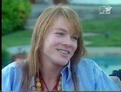 Axl Rose of Guns N' Roses,