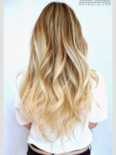 BROWN BLONDE OMBRE | Blonde Ombre