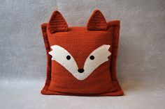 Shop for pillows on Etsy, the place to express your creativity through the buying and selling of handmade and vintage goods. Boho Cushions, Diy Pillows, Couch Pillows, Decorative Pillows, Throw Pillows, Wedding Gifts For Couples, Unique Wedding Gifts, Fox Pillow, Baby Sewing Projects
