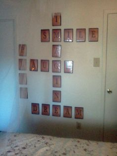 Love this! Getting ready to organize my DVD's and looking for ways to recycle the cases. Clever indeed. [my scrabble wall...]