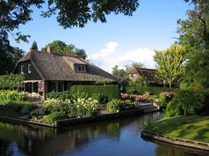 Huckberry | No Roads, No Problem: Meet Giethoorn, the Dutch town with no cars and even fewer worries.