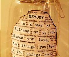 Memory jar 2014