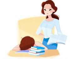 "Belle  Her mom life: Belle is a dedicated homeschooler but finds it is a lot harder to teach her kids than it was to teach the Beast. He says, to her ire, ""I was only a good student because I thought you were a hottie, Belle."""