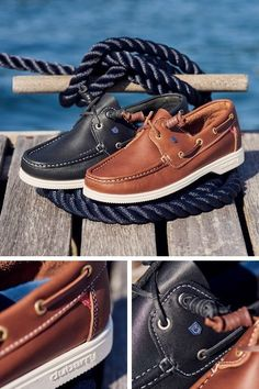 We stock Dubarry Admirals unisex deck shoes in 6 colour options. Get your hands on a pair for only £89.00 (with free UK delivery)! #dubarry #dubarryadmirals #robinsonsshoes New Shoes, Boat Shoes, Men's Shoes, Leather And Lace, Leather Shoes, Sailing Boots, Country Boots, Shoe Horn, Shoe Tree
