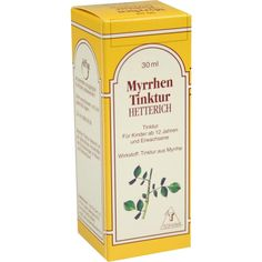MYRRHENTINKTUR Hetterich:   Packungsinhalt: 30 ml Tinktur PZN: 03237665 Hersteller: Teofarma s.r.l. Preis: 2,48 EUR inkl. 19 % MwSt.…