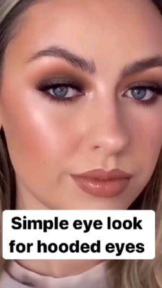 Asian Eye Makeup, Eye Makeup Steps, Makeup Eye Looks, Cute Makeup, Gorgeous Makeup, Skin Makeup, Eyeshadow Makeup, Makeup Inspiration, Makeup Ideas