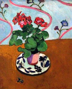 Geraniums Henri Matisse