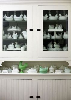 milk glass collection | Milk Glass Collection... correction, Milk Glass CHICKEN collection ...