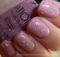 Obsessive Cosmetic Ders Unite Sation Glints And Glam Nail Polish Pictures