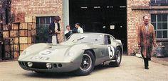 AC Lemans Coupe, built by AC Bristol, the company that built the AC Cobra bodies.