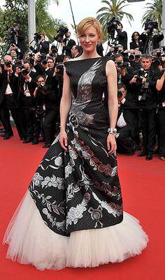 Cate Blanchet in Alexander McQueen