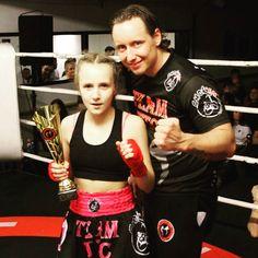 Trots op #Stefania #Rosanna #Di #Lella - #Leonessa #Italiana - die haar #Kickbox partij op zondag 12 maart 2017 tijdens het #TTC gala heeft gewonnen! #total #training #center #boksen #mma #taekwondo
