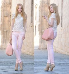 Pink pastels all over!