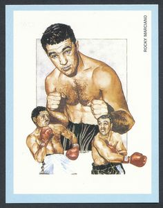 Rocky Marciano Boxing Champions 1991 card #9