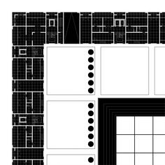 Residential Quarter_Game of Forms_floor plan 1_Monika Debowska_Technical University of Cracow, 2008