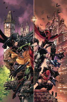 BATMAN Y ROBIN ETERNA # 1 Hace cinco años, Batman y Robin trabajaron el caso más inquietante de su carrera-Se montó la organización del traficante de personas máximo, la misteriosa mujer conocida sólo como la madre lucha contra el crimen. En ese momento, Dick Grayson nunca comprendió el alcance de este caso, pero ahora sus secretos más oscuros están regresando a él ya todos los que alguna vez trabajó con Batman acosando! Con Bruce Wayne ahora perdido para ellos, Dick y todos sus aliados