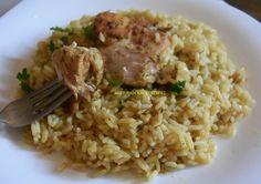 Ελληνικές συνταγές για νόστιμο, υγιεινό και οικονομικό φαγητό. Δοκιμάστε τες όλες Cookbook Recipes, Cooking Recipes, Risotto, Rice, Meat, Chicken, Ethnic Recipes, Greek Beauty, Foods