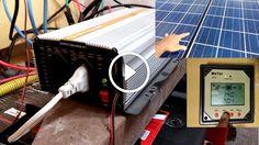 Energia solar ,EP solar tracer 30 amperes controlador PWM gerador fotovoltaico ,bateria 240 amperes                                           Vejam neste  video  meus  paineis solares , vejam que voltei a usar a bateria de 240 amperes em paralelo como estava  antes pois  o rendimento é melhor apesar  de  que ela aparentava ruim , porem como ficou dois dias aproximadamente carregando separada... construindo painel fotovoltaico, construindo painel solar, construindo painel s