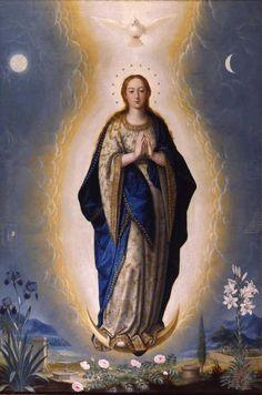 Inmaculada Concepción  Fray Juan Sánchez Cotán (Orgaz (Toledo), 1560 - Granada, 1627)      Entre 1617 y 1618 || Lovely image!