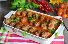 Gołąbki bez zawijania w sosie pomidorowym Kung Pao Chicken, Food And Drink, Beef, Ethnic Recipes, Sweets, Meat, Gummi Candy, Candy, Goodies
