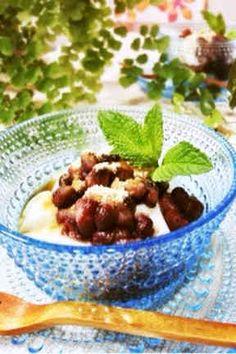 甘味処♪ココナッツミルクのわらび餅の画像